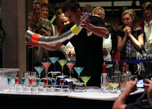 bartender trick pour